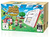 Console Nintendo 2DS - blanc & rouge + Animal Crossing : New Leaf