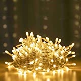 RAAJAOUTLETS 150LED Warm-White String Lights for Decoration with 8 Lighting Mode for Diwali Christmas Indoor and Outdoor (30 Meters)