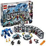 LEGO Marvel Super Heroes - La salle des Armures d'Iron Man - Jeu de construction - 76125