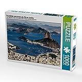 Traumblick vom Corcovado  Rio de Janeiro 1000 Teile Puzzle quer: Brasiliens Estrada Real - der Weg des Goldes (CALVENDO Orte)