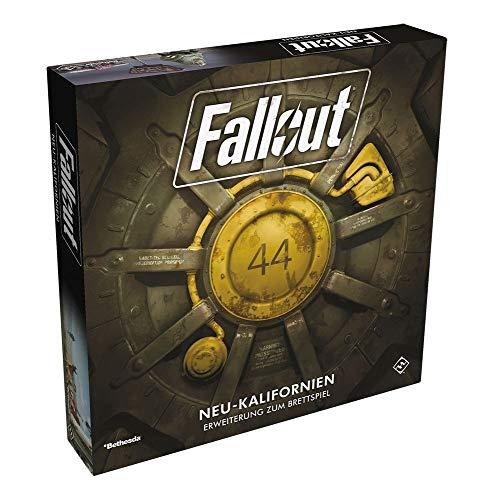 Fallout: Das Brettspiel - Neu-Kalifornien - Erweiterung | DEUTSCH (T-shirts-erweiterung)