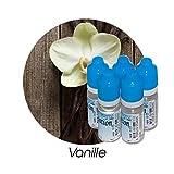 MA POTION - Lot de 5 E-Liquide Vanille Française, Eliquide Français Ma Potion, recharge liquide cigarette électronique Sans nicotine ni t