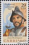 Prophila Collection USA 2322 (kompl.Ausg.) 1992 Entdeckung Kaliforniens (Briefmarken für Sammler)