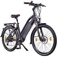 "NCM Milano+ 48V, 26"" / 28"" Zoll Damen & Herren Urban E-Bike, 250W Das-Kit Heckmotor, 13Ah 624Wh Li-Ion Zellen Akku, hydraulische Scheibenbremsen, 8 Gang Shimano Schaltung"