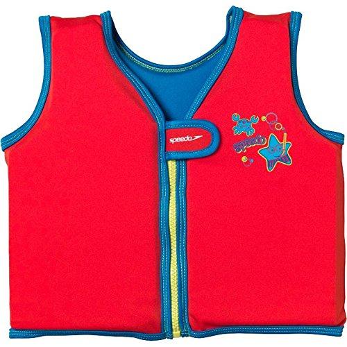 Speedo Sea Squad Schwimmweste rot (1-2 Jahre)