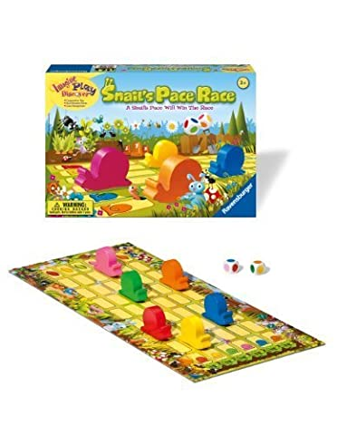 Ravensburger Snail's Pace Race - Children's Game by Ravensburger TOY (English Manual)