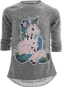 Sudadera con diseño de unicornio