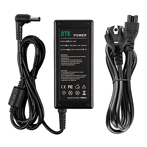 DTK® Notebook Laptop Ladegerät AC Netzteil für ASUS/Toshiba / Lenovo/Medion n17908 v85 Output: 19V 3,42A 65W Ladegeräte Netzteile Netz Batterie-Stromversorgung 5.5MM * 2.5MM