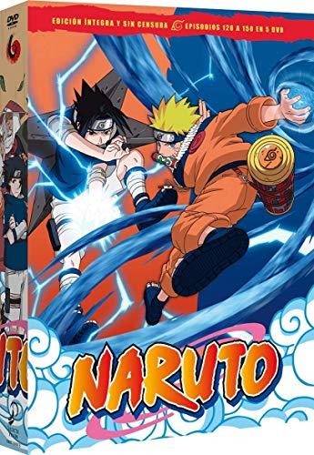 Naruto Box 6 Episodios  126 A 150 [DVD]