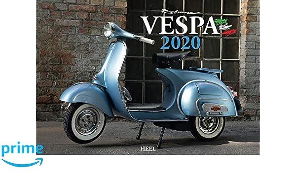 Calendario Vespa 2020.Vespa 2020 Italienischer Livestyle Auf Zwei Radern Amazon