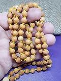 odorant bois de santal mala HINDOU Japa méditation ROSAIRE 108 8mm Collier de perles