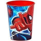 Esemebe 126-102 Vaso de Plasticó 17 Cl, Diseño Spiderman
