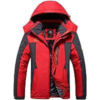 HHFHZ Abrigos para Hombre Extraíbles Resistentes al Agua Ciclismo Casual Outerwear Invierno Cálido Chaqueta de Tiro Jugando (Color : 04, Tamaño : XL)