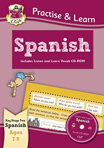 New Practise & Learn: Spanish for Ages 7-9 - with vocab CD-ROM: Spanish ages 7-9