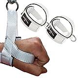 1 Paar Einhand Kabelzug Griffe / Trainings Griff / Latzug Einhandgriff WEISS