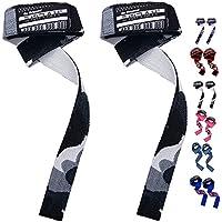 Emrah Power Bar Main Sangles Bretelles haltérophilie Sangles de poignet en coton pour exercices fitness