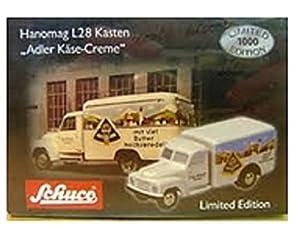 Schuco 450170400 Classic - Piccolo Hanomag L28 Queso Crema Adler Caja
