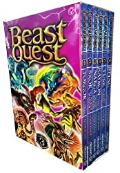 Beast Quest Box Set Series 3 The Dark Realm 6 Books Collection Set (Books 13-18)