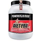 DIÄT EIWEIß SHAKE - Diätprotein Pulver als proteinreicher Abnehmen Shake für eine Eiweiß Diät ohne Muskelverlust - sättigender Eiweissshake - weniger Hunger - mit Glucomannan, Tyrosin und Carnitin - (Vanille)