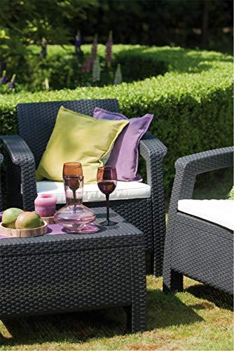Keter Lounge Sessel Rattan, Korfu - 8