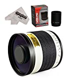 Opteka 500mm/1000mm f/6.3 HD Telephoto Mirror Lens for Pentax K-1, K-S2, K-S1, K-500, K-50, K-30, K5 IIs, K-7, K-5, K-3 II, K-2, K-X, K20D, K100D, K110D and K10D Digital SLR Cameras