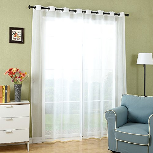Affordable X Visillo Voile Gasa Lino Con Ojales Translcido Decoracin  Moderna Para Saln Habitacin Dormitorio Hogar With Cortinas Estampadas Para  Salon With ...