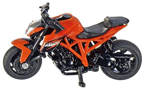 Modell Spiele (Siku 1384 - KTM 1290 Super Duke R, Fahrzeug, orange)