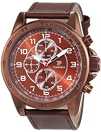Time Piece Herren-Armbanduhr Young Fashion Analog Quarz Leder TPGA-90944-82L