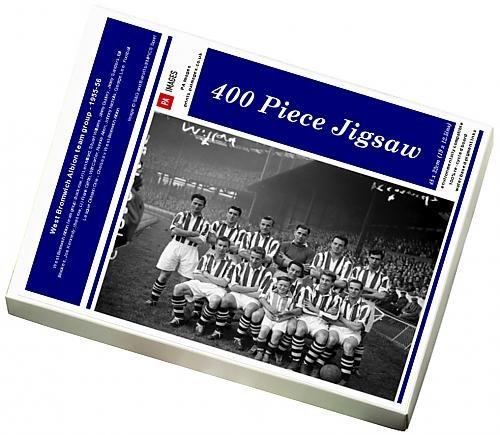 400 Piece Puzzle of West Bromwich Albion team group - 1955-56 (4471835)