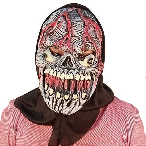ke Horror Kopfbedeckung Geist furchterregende männliche Erwachsene Frau Gesicht Maskerade Status Dämon, vaskuläre Maske ()