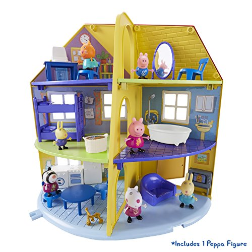 Peppa Pig 06384 Peppa's Family Home Playset, Multi