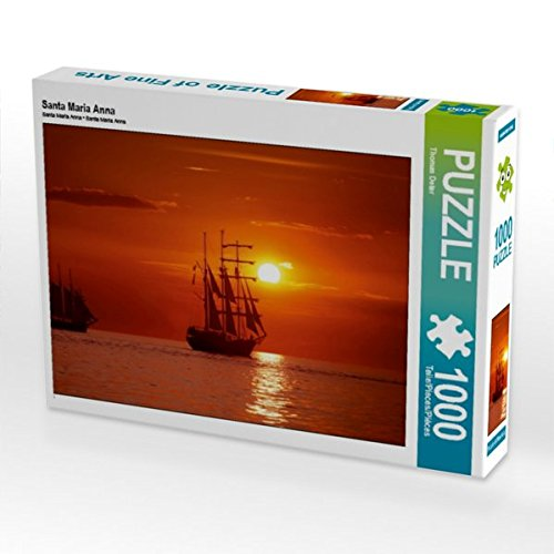 Santa Maria Anna 1000 Teile Puzzle quer