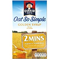 Quaker Avena tan simple jarabe de oro 10 x 36g
