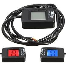 Universal moto ATV digital LCD engranajes indicador 1-6 palanca de cambio de marcha sensor