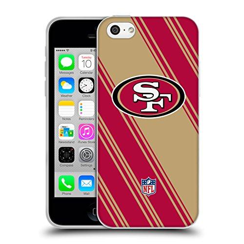 Offizielle NFL Marmor 2017/18 San Francisco 49Ers Soft Gel Hülle für Apple iPhone 6 Plus / 6s Plus Streifen