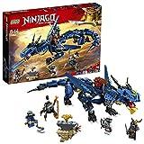 LEGO-NINJAGO Le dragon Stormbringer Jeu pour Enfant 8 Ans et Plus, Briques de Construction Garçon et Fille, 493 Pièces 70652