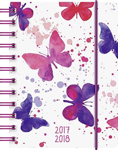 Preisvergleich Produktbild Brunnen 1072915048 Schülerkalender Schmetterling (1 Tag in 1 Seite, August 2017 bis Juli 2018)