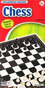 Halsall Magnetic Traditional Travel Chess Game
