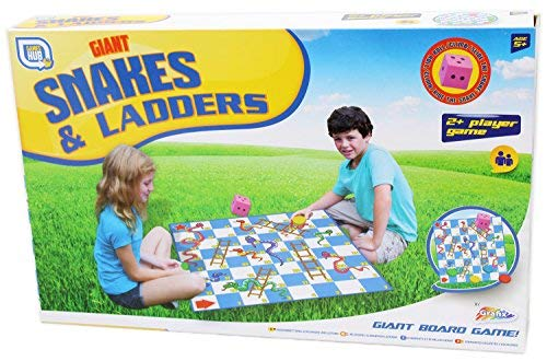 Grafix Giant Snakes And Ladders einfach Spielen (in englisch) - Ladders Snakes