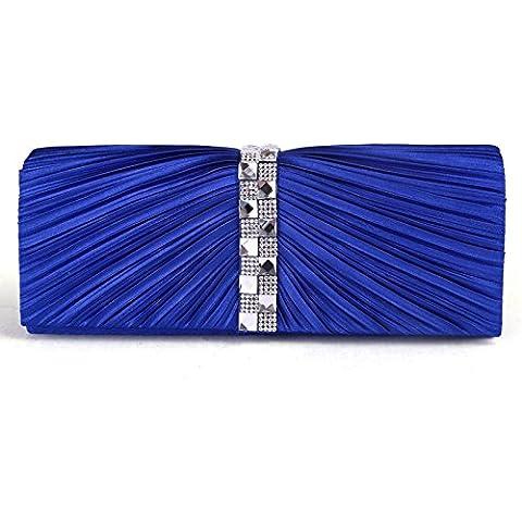 LUcy KA-El paquete de fiesta nupcial nuevos modelos femeninos de terciopelo visten el bolso de embrague paquete bolso de noche con