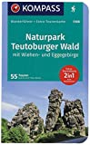 Naturpark Teutoburger Wald mit Wiehen- und Eggegebirge: Wanderführer mit Extra-Tourenkarte 1:80.000, 55 Touren, GPX-Daten zum Download.: Wandelgids ... (KOMPASS-Wanderführer, Band 5106)