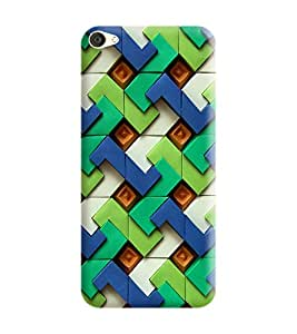 Vivo Y53 Back Cover designer 3D Hard Mobile Case printed Cover for vivo y53 by Gismo - Pattern and ethic