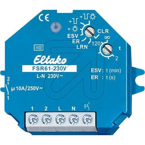 Preisvergleich Produktbild Eltako Funk-Stromstossrelais, FSR61-230V Funkaktor