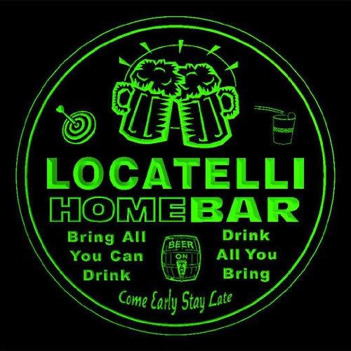 4x-ccq26799-g-locatelli-family-name-home-bar-pub-beer-club-gift-3d-coasters