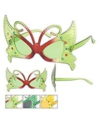 Papillon Parti Lunettes de soleil Multicolore