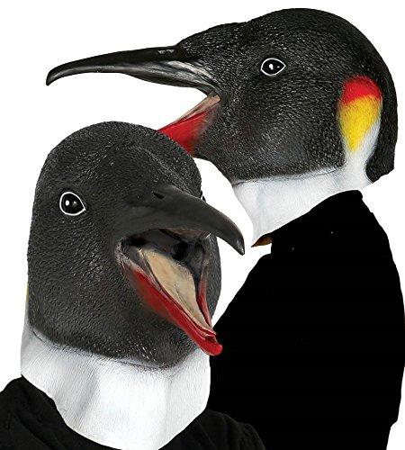 Guirca Pinguin Vogelmaske Latex Maske Halloween Horror Halloweenmaske Tiermaske