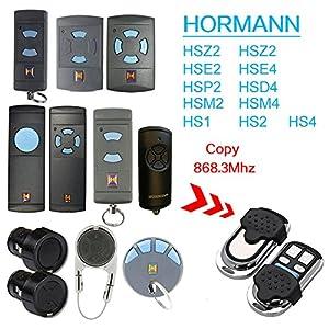 Kompatibel 868 Mhz Hormann Hsm2   Hsm4   Hs1   Hs2   Hs4   Hse2   Hsz1   Hsz2   Hsp4   Hsp4 868-c   Hsd2-A   Hsd2-c Garagentor Handsender Ersatz - Sender Universal