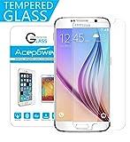 Galaxy S6 Schutzfolie, ACEPower® Gehärtetem Glas Schutzfolie Displayschutzfolie Displayschutz Screen Protector für Samsung Galaxy S6 (Galaxy S6)