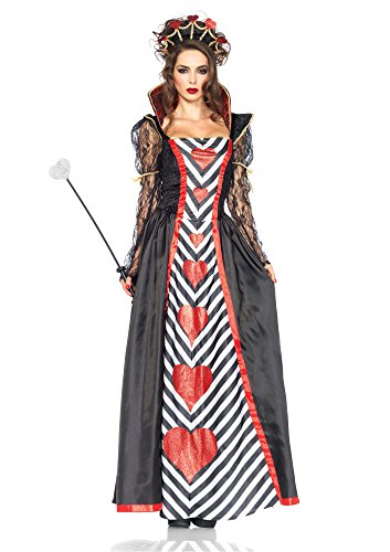 Leg Avenue 85441 - Wonderland Königin-Kostüm, Größe Medium -