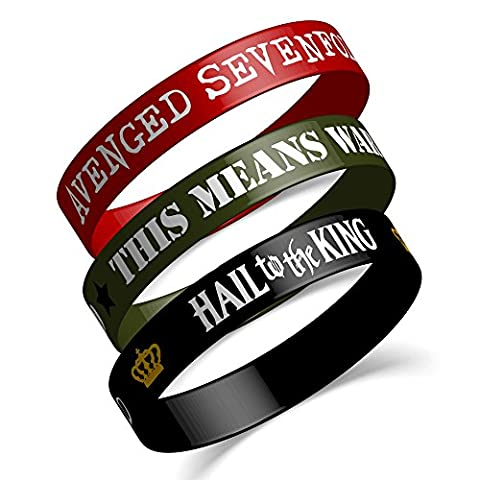 AVENGED SEVENFOLD - Hail To The King - Silikonarmbänder Set Wristband